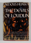 Books:Non-fiction, Aldous Huxley. The Devils of Loudun. [New York]: Harper & Brothers, 1953. Book club edition. Octavo. 340. Publis...
