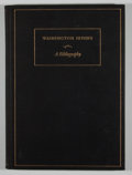 Books:Reference & Bibliography, William R. Langfeld [editor]. Washington Irving: ABibliography. New York Public Library, 1933. Later edition.Q...