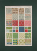 Antiques:Posters & Prints, Owen Jones. Two Color Plates on Chinese Ornamentation from TheGrammar of Ornament. [London: ca. 1910]. General ...(Total: 2 Items)