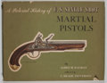Books:First Editions, James M. Kalman. SIGNED. A Pictorial History of U.S. Single ShotMartial Pistols. New York: Scribner's, [ca.1957]. F...
