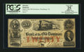 Obsoletes By State:Virginia, Alexandria, VA- Bank of the Old Dominion at Pearisburg Branch $20 Oct. 1, 1859 G16b Jones BA30-21. ...