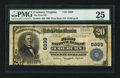 National Bank Notes:Virginia, Coeburn, VA - $20 1902 Plain Back Fr. 650 The First NB Ch. # 6899....