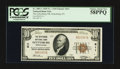 National Bank Notes:Pennsylvania, Gettysburg, PA - $10 1929 Ty. 1 The Gettysburg NB Ch. # 611. ...