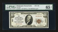 National Bank Notes:Pennsylvania, Pittsburgh, PA - $10 1929 Ty. 1 The Second NB Ch. # 252. ...
