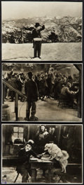 """Movie Posters:Comedy, The Gold Rush (United Artists, R-1940s). German Photos (3) (7.5"""" X 10""""). Comedy.. ... (Total: 3 Items)"""