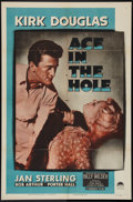 """Movie Posters:Film Noir, Ace In The Hole (Paramount, 1951). One Sheet (27"""" X 41""""). Film Noir.. ..."""