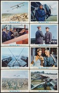 """Movie Posters:War, The Blue Max (20th Century Fox, 1966). Lobby Cards (8) (11"""" X 14"""").War.. ... (Total: 8 Items)"""