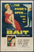 "Movie Posters:Bad Girl, Bait (Columbia, 1954). One Sheet (27"" X 41""). Bad Girl.. ..."