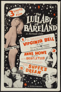 "Movie Posters:Sexploitation, Lullaby of Bareland (Griffith, 1964). One Sheet (27"" X 41"").Sexploitation.. ..."
