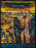 "Movie Posters:Science Fiction, Planet of the Apes (20th Century Fox, 1968). French Grande (47"" X63""). Science Fiction.. ..."
