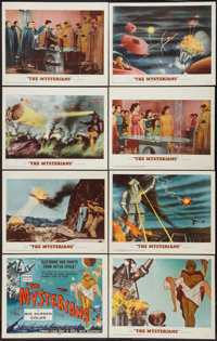 """The Mysterians (RKO, 1959). Lobby Card Set of 8 (11"""" X 14""""). Science Fiction. ... (Total: 8 Items)"""