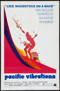 "Movie Posters:Documentary, Pacific Vibrations (American International, 1971). One Sheet (27"" X 41""). Surfing Documentary.. ..."