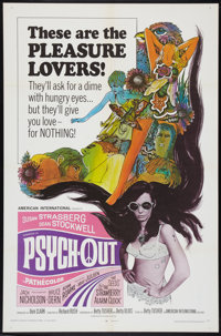 """Psych-Out (American International, 1968). One Sheet (27"""" X 41""""). Exploitation"""