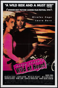 "Wild at Heart (Samuel Goldwyn, 1990). One Sheet (27"" X 41""). Crime"