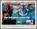 "Movie Posters:James Bond, The Spy Who Loved Me (United Artists, 1977). Half Sheet (22"" X28""). James Bond.. ..."