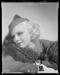 """Movie Posters:Miscellaneous, Jean Harlow by George Hurrell (MGM, 1930s). Kodak Nitrate Negative (7.75"""" X 9.75""""). Miscellaneous.. ..."""