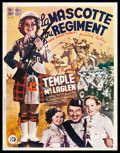 "Movie Posters:Adventure, Wee Willie Winkie (20th Century Fox, 1937). Pre-War Belgian (23"" X30""). Adventure.. ..."