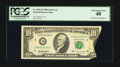 Error Notes:Foldovers, Fr. 2031-D $10 1995 Federal Reserve Note. PCGS Extremely Fine 40.....
