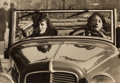 Photographs:20th Century, HANS WENDLER (20th Century). Two Women in a Car, circa 1940.Vintage gelatin silver. 3-1/8 x 4-1/2 inches (7.9 x 11.4 cm...