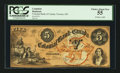 Canadian Currency: , Toronto, CW- The Colonial Bank of Canada $5 May 4, 1859 Ch. # 130-10-02-10. ...