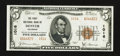 National Bank Notes:Colorado, Denver, CO - $5 1929 Ty. 2 The First NB Ch. # 1016. ...
