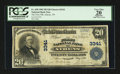 National Bank Notes:Tennessee, Athens, TN - $20 1902 Plain Back Fr. 650 The First NB Ch. # 3341....