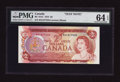 Canadian Currency: , BC-47aT $2 1974 Test Note. . ...