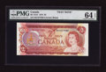 Canadian Currency: , BC-47aT $2 1974 Test Note.. ...