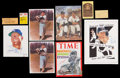 Baseball Collectibles:Others, Joe DiMaggio, Mickey Mantle and others Signed Lot. ...