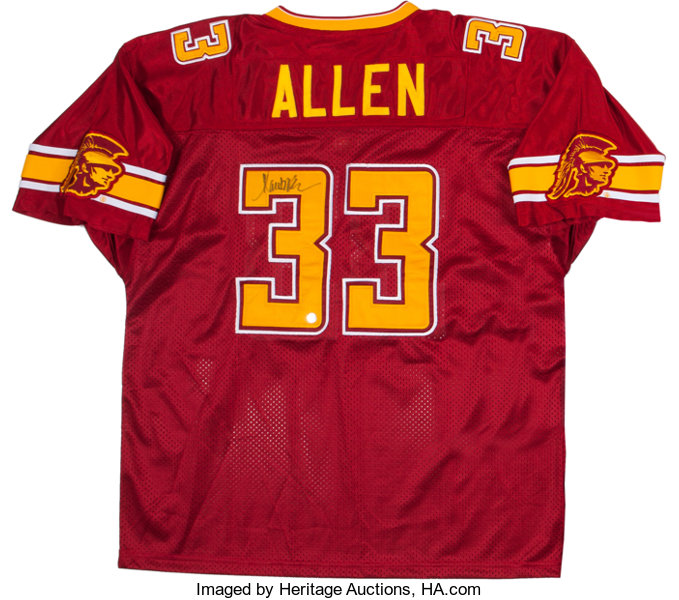 competitive price 2afb0 4bbb4 Marcus Allen Signed Jersey.... Football Collectibles ...