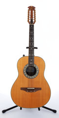 Musical Instruments:Acoustic Guitars, 1981 Ovation 1681 Glen Campbell Natural Electric Acoustic Guitar,#236515....