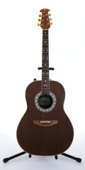 Musical Instruments:Acoustic Guitars, Early 1970's Ovation 1651 Natural Electric Acoustic Guitar #207894....