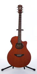 Musical Instruments:Acoustic Guitars, 2000 Yamaha APX-3 Natural Electric Acoustic Guitar #QIX117070....
