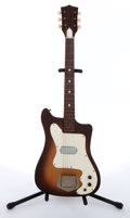 Musical Instruments:Electric Guitars, 1961 Kay K100 Vanguard Sunburst Electric Guitar # N/A....