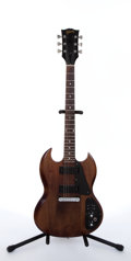 Musical Instruments:Electric Guitars, 1972 Gibson SGII Walnut Electric Guitar #204571....