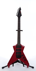Musical Instruments:Electric Guitars, Electra Westone Dynasty X2RD Futura Flying V-Style Red ElectricGuitar #4120885...