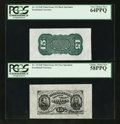 Fractional Currency:Third Issue, Fr. 1272SP 15¢ Third Issue Wide Margin Pair PCGS Very Choice New 64PPQ and Choice About New 58PPQ.. ... (Total: 2 notes)