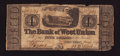 Obsoletes By State:Ohio, West Union, (OH)- Bank of West Union $4 Jan. 1836 G48a Wolka2824-13. ...