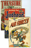 Golden Age (1938-1955):Miscellaneous, Miscellaneous Golden Age Group (Various Publishers, 1940-56) Condition: Average GD/VG.... (Total: 13)