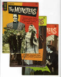 Silver Age (1956-1969):Humor, Munsters #7, 9, and 11 Group (Gold Key, 1966-67) Condition: Average FN.... (Total: 3)