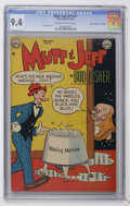 """Golden Age (1938-1955):Humor, Mutt and Jeff #57 Davis Crippen (""""D"""" Copy) pedigree (DC, 1952) CGC NM 9.4 Off-white to white pages...."""