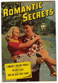"Golden Age (1938-1955):Romance, Romantic Secrets #28 Davis Crippen (""D"" Copy) pedigree (Fawcett,1952) Condition: VF/NM...."