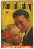 "Golden Age (1938-1955):Romance, Romantic Story #1 Davis Crippen (""D"" Copy) pedigree (Fawcett, 1949)Condition: VF+...."