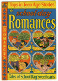 "Golden Age (1938-1955):Romance, School Day Romances #1 Davis Crippen (""D"" Copy) pedigree (Star,1949) Condition: FN+...."