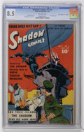 "Golden Age (1938-1955):Miscellaneous, Shadow Comics V7#4 Davis Crippen (""D"" Copy) pedigree (Street & Smith, 1947) CGC VF+ 8.5 Off-white pages...."