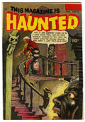 "Golden Age (1938-1955):Horror, This Magazine Is Haunted #12 Davis Crippen (""D"" Copy) pedigree(Fawcett, 1953) Condition: VG+...."