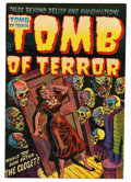 "Golden Age (1938-1955):Horror, Tomb of Terror #11 Davis Crippen (""D"" Copy) pedigree (Harvey, 1953)Condition: VF...."