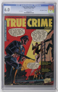 "Golden Age (1938-1955):Crime, True Crime Comics #5 Davis Crippen (""D"" Copy) pedigree (Magazine Village, 1949) CGC FN 6.0 Cream to off-white pages...."