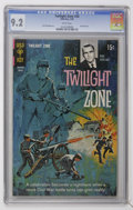 Silver Age (1956-1969):Horror, Twilight Zone #28 (Gold Key, 1969) CGC NM- 9.2 White pages....