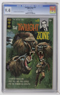 Bronze Age (1970-1979):Horror, Twilight Zone #33 (Gold Key, 1970) CGC NM 9.4 White pages....